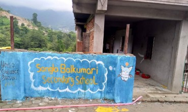 Volunteering in Sangla Balkumari Secondary School in Kathamndu