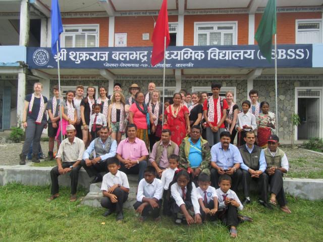 Volunteering Project in Sukraraj Balabhadra School