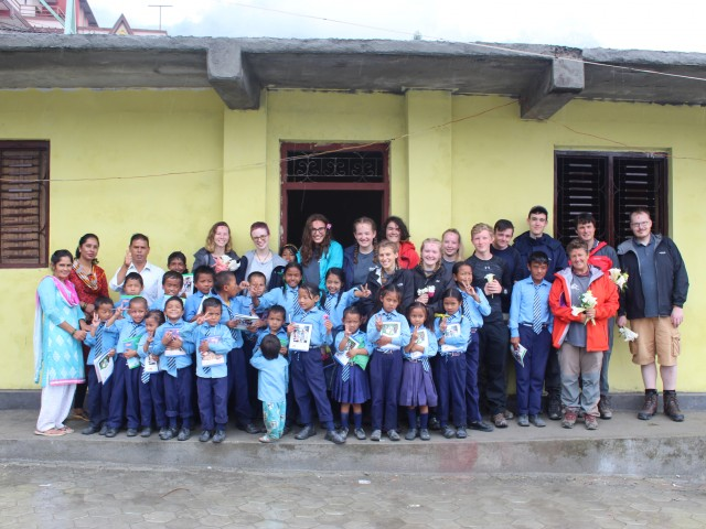 Volunteering Project in Aatma Bikas School