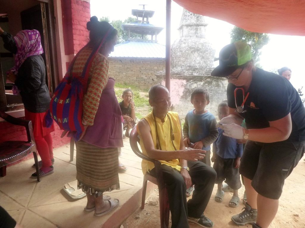 Free Health Camp in Helambu Village