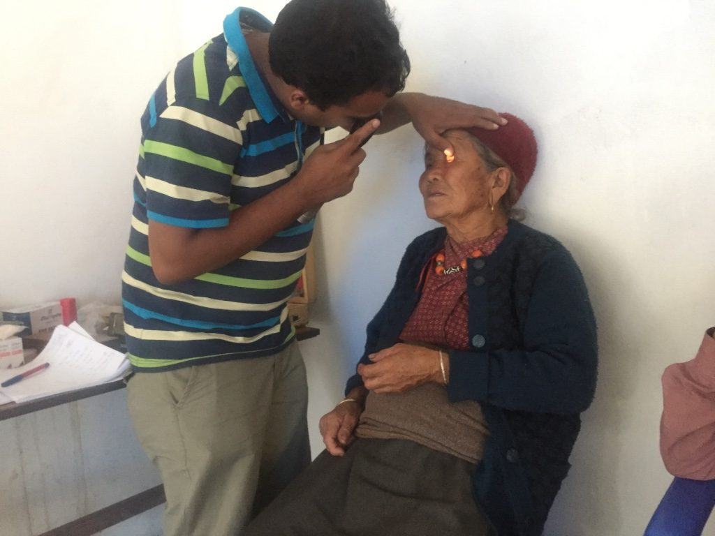 Volunteer Eye Camp