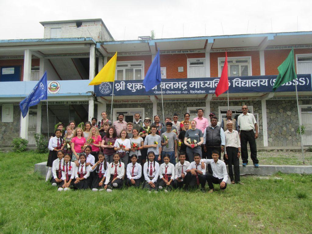 Volunteering Project in Sukraraj Balabhadra School - Lhasso